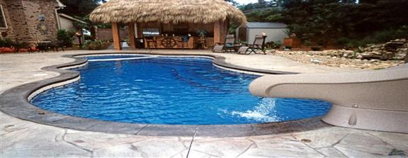 San Juan Pools - Carolina Family Pool fiberglass swimming pools